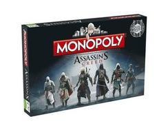 Jogo de Tabuleiro MONOPOLY Assassins Creed