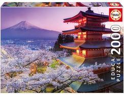 Puzzle 2D EDUCA Monte Fuji