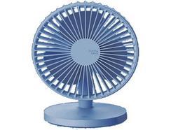 Ventoinha QUSHINI Desk Fan em Azul