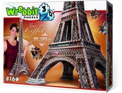 Puzzle 3D WREBBIT Torre Eiffel