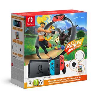 Consola Nintendo Switch Neón + Ring Fit