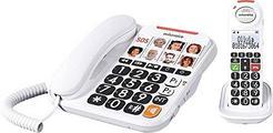 Telefone sem Fios + Telefone Fixo Swissvoice Xtra 3155 – Branco