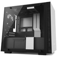 Caixa Mini-ITX NZXT H200 com Janela Branca/Preta