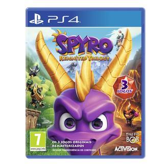Jogo PS4 Spyro Reignited Trilogy