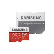 Samsung EVO+ UHS-I U3 microSDXC 256GB + Adaptador SD