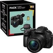Panasonic Lumix DMC-G80 + G Vario 12-60mm f/3.5-5.6 ASPH. POWER O.I.S. + Bolsa + Cartão Memória