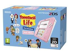 Consola Nintendo 2DS (Branco/Rosa) + Tomodachi Life (Pré-instalado)