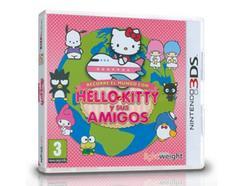 Jogo Nintendo 3DS Recorre el Mundo Con Hello Kitty y sus Amigos