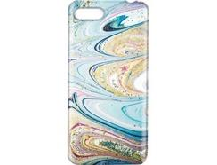 Capa iPhone 6, 7, 8 KOVERMANIA Marble11 Multicor