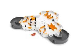 Conjunto de Robots JUGUETRÓNICA Habitat Nano Hexbug