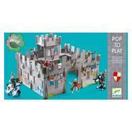 Castelo Medieval 3D Pop to Play Djeco