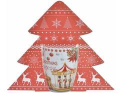 Caneca Porcelana ITEM Christmas 280 ml