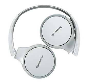 Auscultadores Bluetooth PANASONIC RP-HF400BE (On Ear – Microfone – Branco)