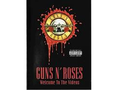 CD+DVD Guns'n'Roses – Welcome To The Videos