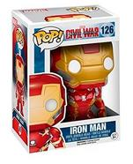 Figura Vinil FUNKO POP! Marvel Civil War: Homem de Ferro