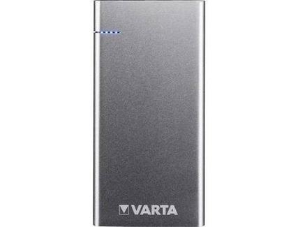 Powerbank VARTA Slim 6000 mAh em Prateado