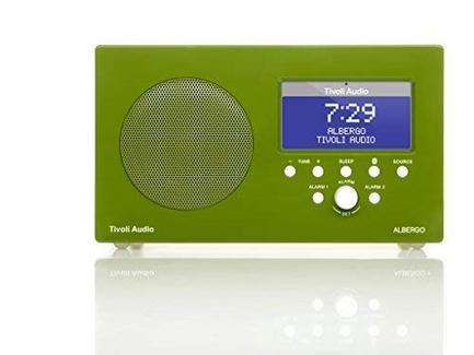 Rádio Portátil TIVOLI Audio Albergo Green