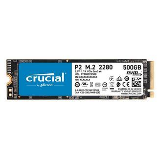 Crucial P2 M.2 2280 TLC 500GB NVMe SSD