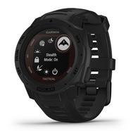 Relógio GPS Instinct Solar Garmin Tactical Edition Preto