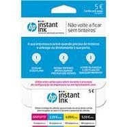 Instant Ink HP – Cartão 5€
