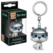 Porta-chaves FUNKO Pop: Rick & Morty – Snowball