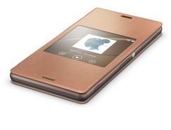 Book Window SONY Xperia Z3 Compact Laranja
