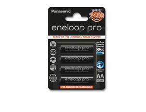 Panasonic Eneloop PRO AA 2450 mAh – Pack de 4