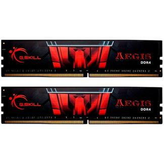 G.SKILL Aegis 16GB (2x8GB) DDR4-2666MHz CL19 Preta