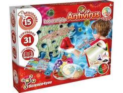 Jogo Didático SCIENCE4YOU Laboatório Antivirus (Idade Mínima: 8)