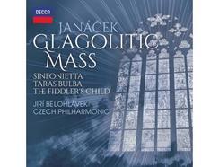 CD Janácek: Glagolitic Mass, Taras Bulba, Sinfonietta, The Fiddler's Child -por Jiri Belohlavek/Czech Philharmonic