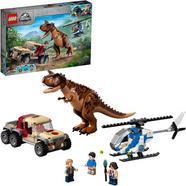 LEGO Mundo Jurássico Carnotaurus Dinosaurus Pursuit
