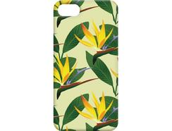 Capa iPhone 6, 6s, 7, 8 FUNNY CASES Flores Verde