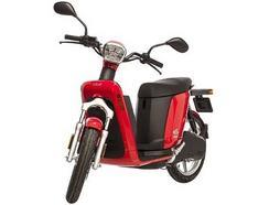 Scooter elétrica ASKOLL eS3 Vermelha