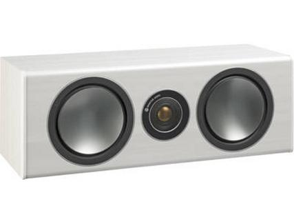 Coluna MONITOR AUDIO Bronze Central Branco