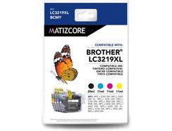 Tinteiros MATIZCORE Brother LC3219 XL Preto e Cores