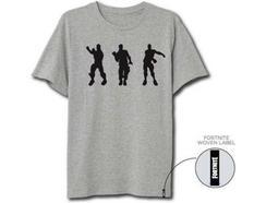 Pré-venda T-Shirt FORTNITE Cinzento Claro XL
