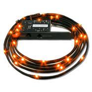 NZXT Sleeved LED Kit 2m Laranja