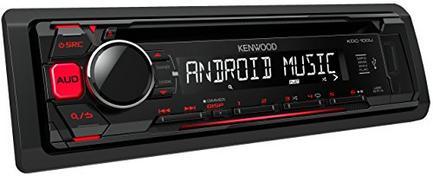 Kenwood KDC-100UR Vermelho