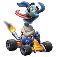 Figura Totaku – Crash Team Racing: Ripper