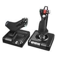 Logitech G Saitek X52 Pro Flight Control System Controlador Simulador de Voo
