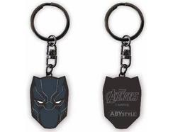 Porta-chaves marvel black panther x4