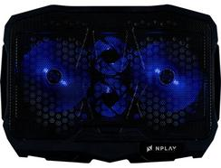 Cooler Gaming NPLAY Unstoppable 3.0 em Preto e Azul