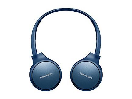 Auscultadores Bluetooth PANASONIC RP-HF410BE-A (On ear – Microfone – Atende chamadas)