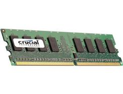 Crucial 2GB DDR2 667MHz PC2-5300 / UDIMM 240pin / CL5