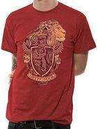 T-shirt Vermelha HARRY POTTER Gryffindor Tamanho XL