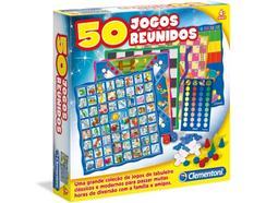 Jogo de Tabuleiro CLEMENTONI 50 Jogos Reunidos