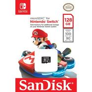 Cartão de Memória microSDXC SANDISK Nintendo UHS-I 128GB