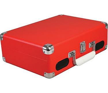 Gira-Discos VINYL STYL Groove Portable 3 Vermelho