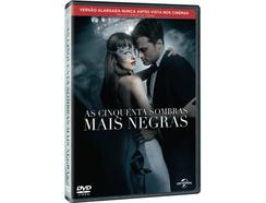 DVD As Cinquenta Sombras Mais Negras