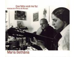 CD Maria Bethania – Que Falta Você Me Faz